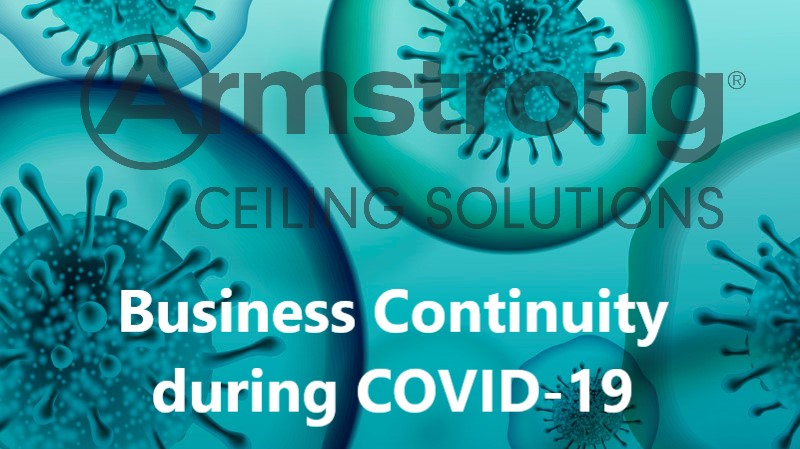 Armstrong Ceilings Business Continuity Plans - coronavirus (COVID-19)