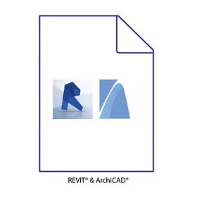 Revit and ArchiCAD BIM File Icon