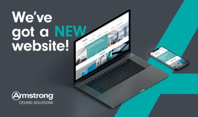 Armstrong Ceiling Solutions launches new website